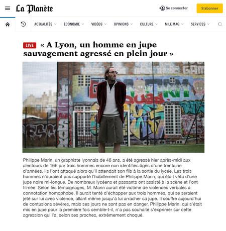 ARTICLE LA PLANETE