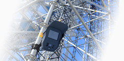 Building site scaffolding alarm systems hire