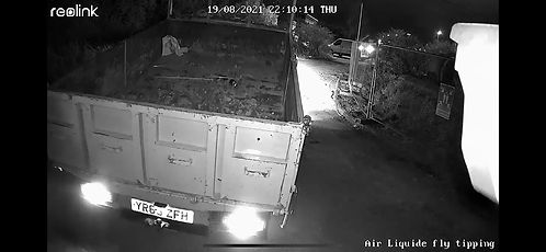 Fly tipping number plate recognition allow Police to trace vehicle.JPG