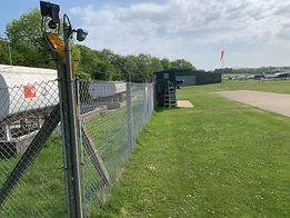 wireless alarm systems for airfield fuel storage area and fuel bowsers