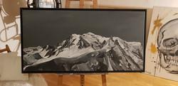 Mont Blanc et Dent du Midi