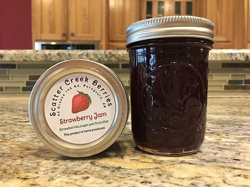 Strawberry Jam, 8oz