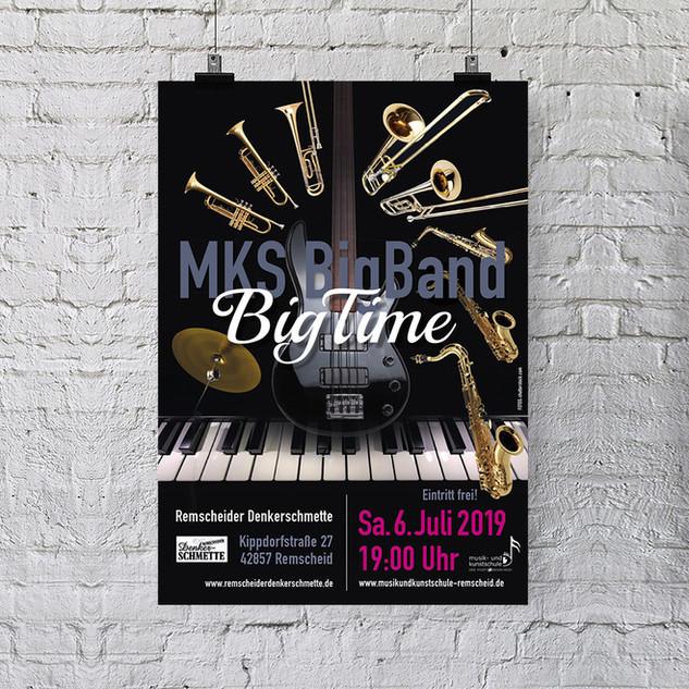 Plakat Konzert Big Time
