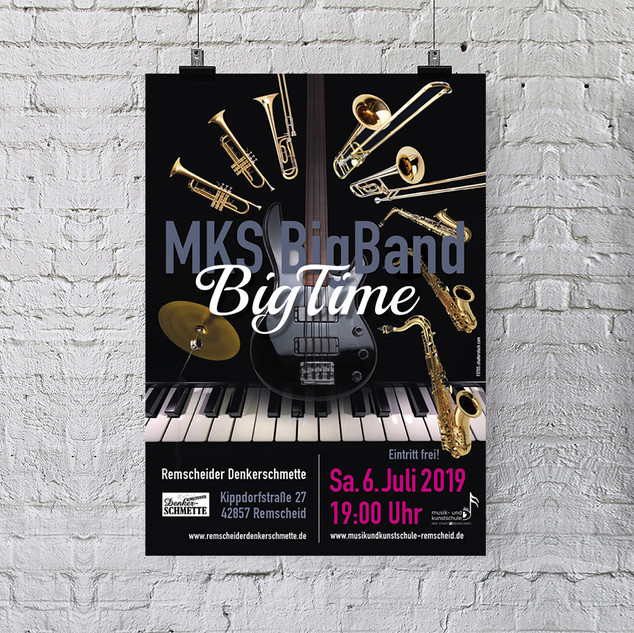 Plakat Konzert Big Time