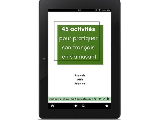 Cahier d'activités numérique