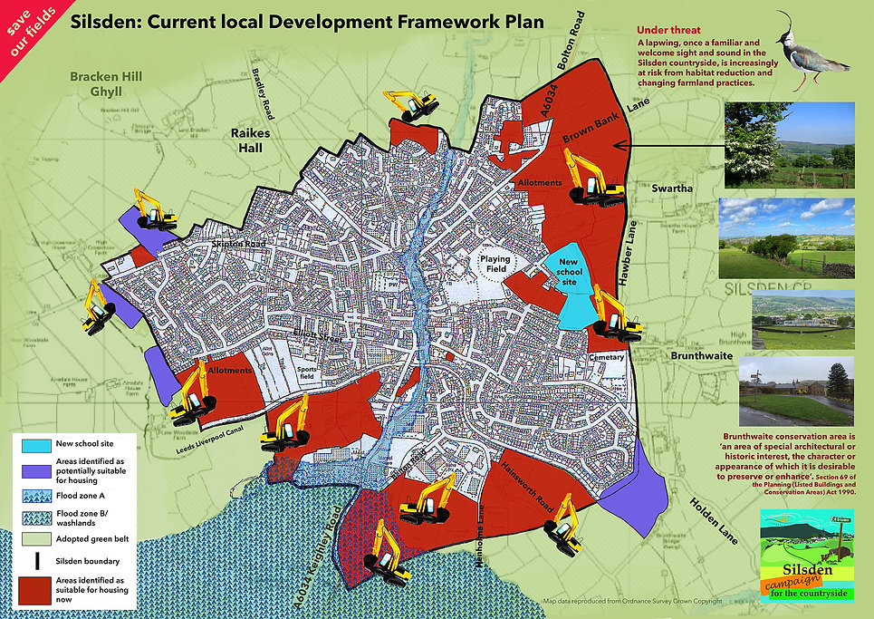 Silsden Current Development Framework Pl