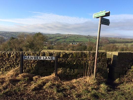 Hawber Lane sign & Footpath Sign_1283.JP