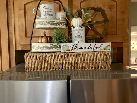 Fall refrigerator decor ideas