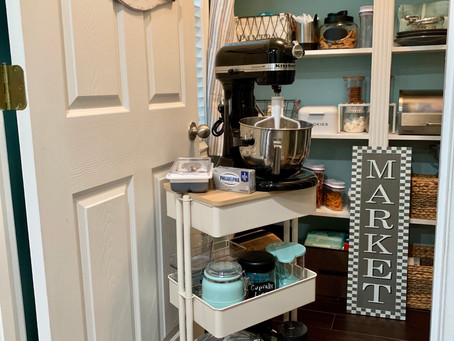 Upcoming Project Alert! Baking Cart refresh