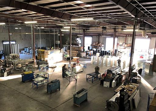 Inside Superior Duct Shop