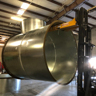 Large Round Duct