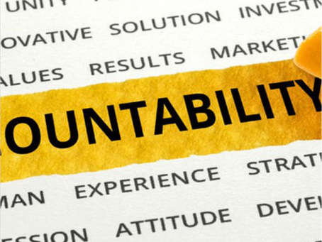 Let's Break Down Accountability