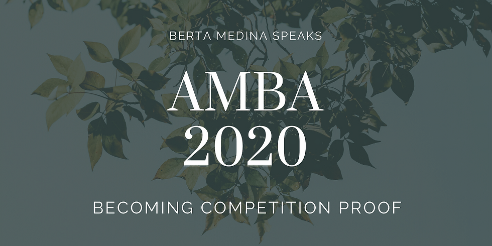 Becoming Competition Proof at the AMBA