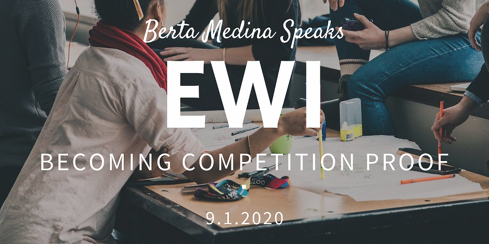 Becoming Competition Proof EWI