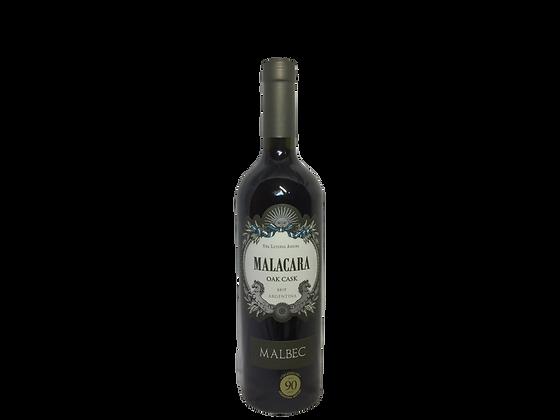 מאלקרה אואק קאסק מלבק -  Malacara Oak Cask Malbec 2017