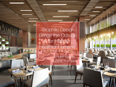 Biophilic Design: Making Happier Healthier Humans