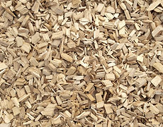 Wood and woodchip for woodfuel