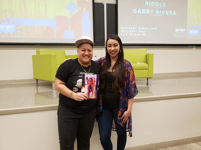 Gabby Rivera @ OSU, March 2019