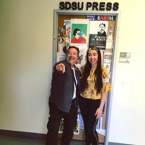 Visiting SDSU Press, March 2019
