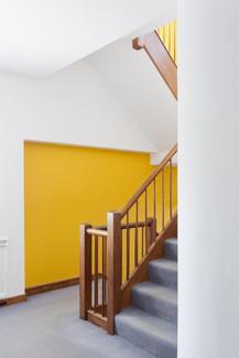 Modernist stairway