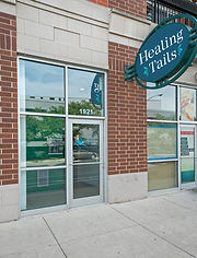 outside entrance to healing tails