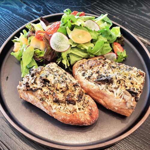 Mushroom Open Sandwich