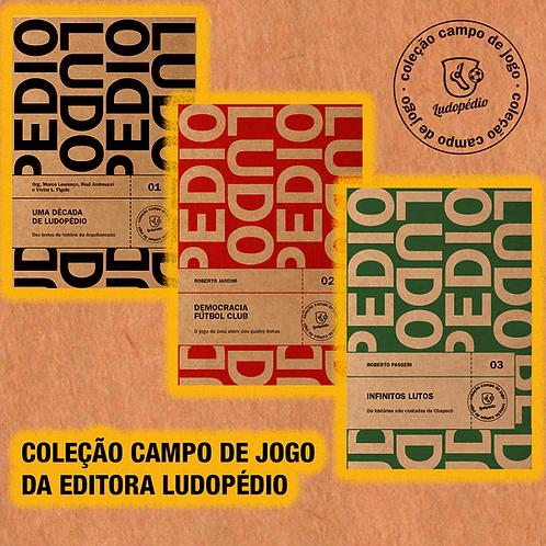 Kit Coleção Campo de Jogo - Editora Ludopédio
