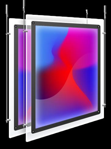 Печать на световых материалах