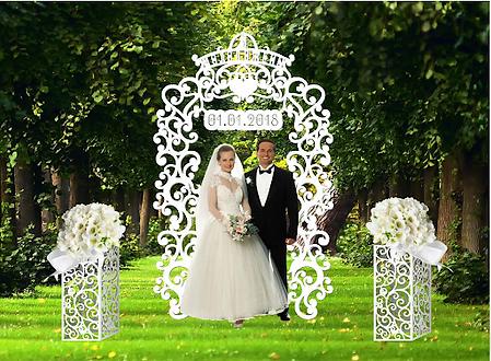 свадебные арки тумбы