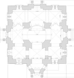 Обмер храма для реставрации. Дмитров