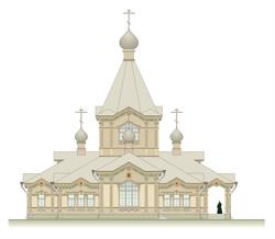 30. Проект храма. Красноярск