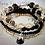 Thumbnail: Black & Gold Bracelet