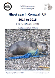 ghost gear in cornwall report