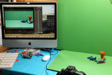 salty animation station - photo by Jane Pickles 2014