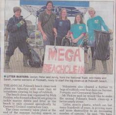 Mega beach clean 2013