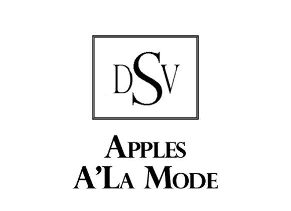 APPLES A'LA MODE