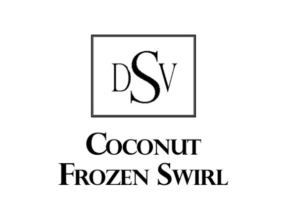 COCONUT FROZEN SWIRL