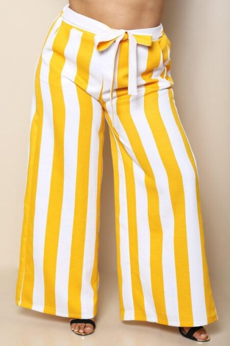 Flare with me high waist (yellow)