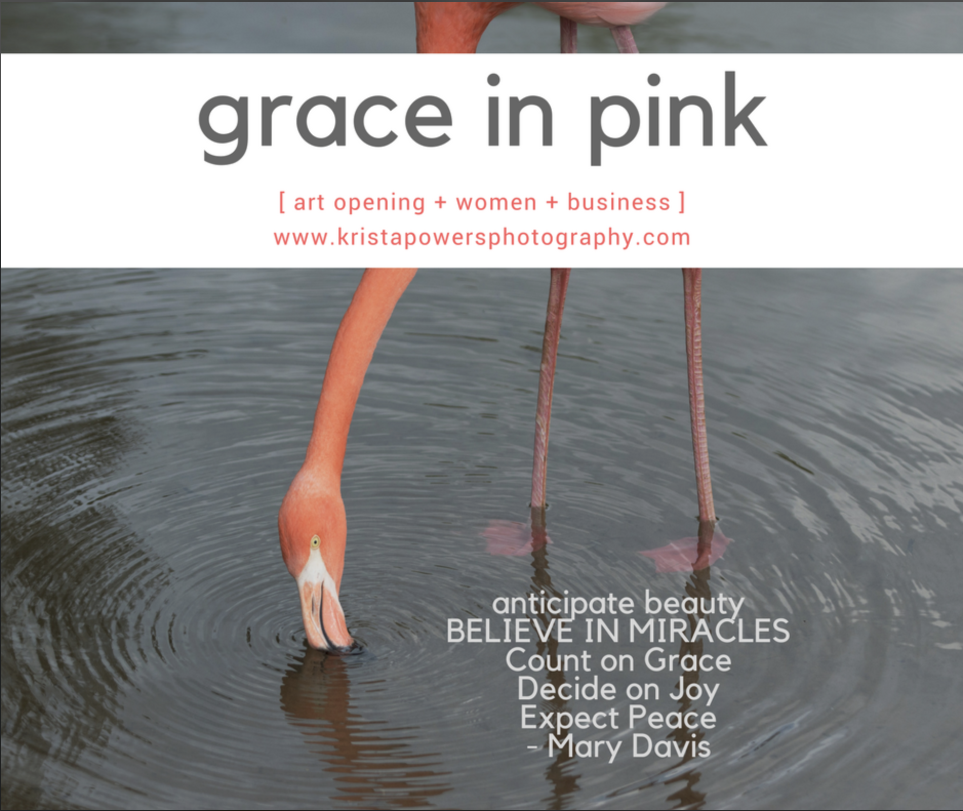 Grace in Pink Exhibit/Event