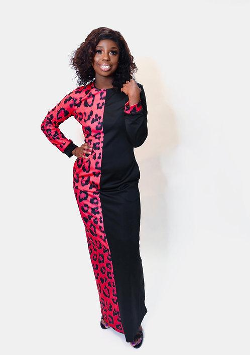 Pink Leopard Maxi