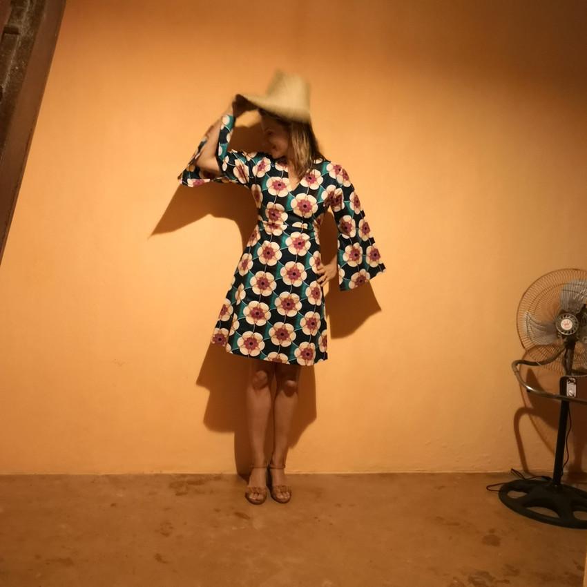 Sommerkleid Kitenge