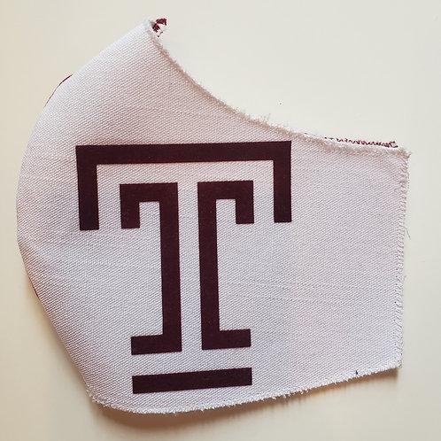 TEMPLE Logo Masks