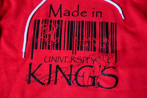 University of Kings Barcode Hoodie