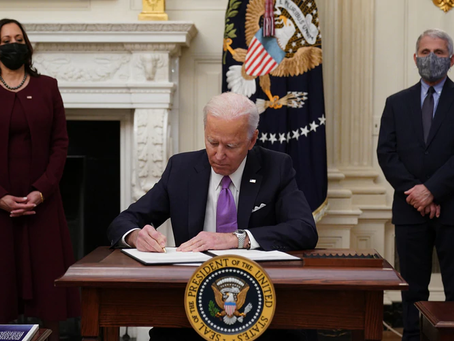Biden signs executive orders focusing on women's health, reproductive rights