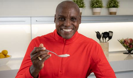 Olympic legend Carl Lewis and Silk Soymilk join forces to support HBCU track and field programs
