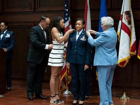 Alabama's air militia promotes first Black woman to brigadier general rank