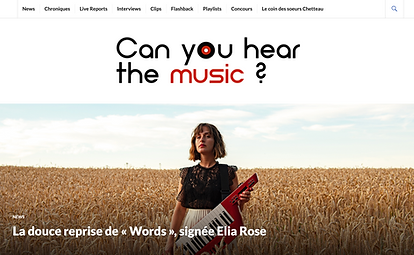 elia rose can you hear the music