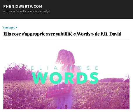 words fr david elia rose