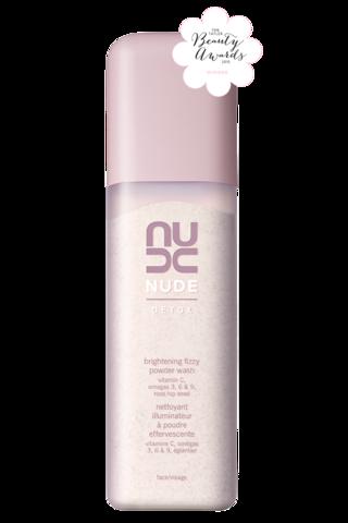 Nude Brightening fizzy powder wash