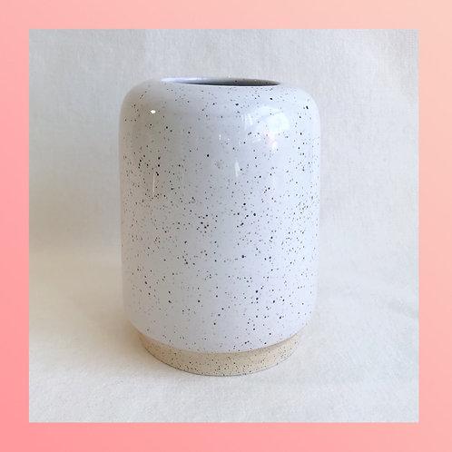 Speckled Cylinder Vase